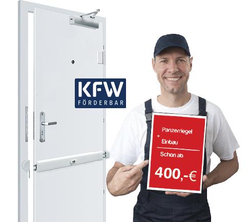 PAnzerriegel mit KFW Förderung möglich